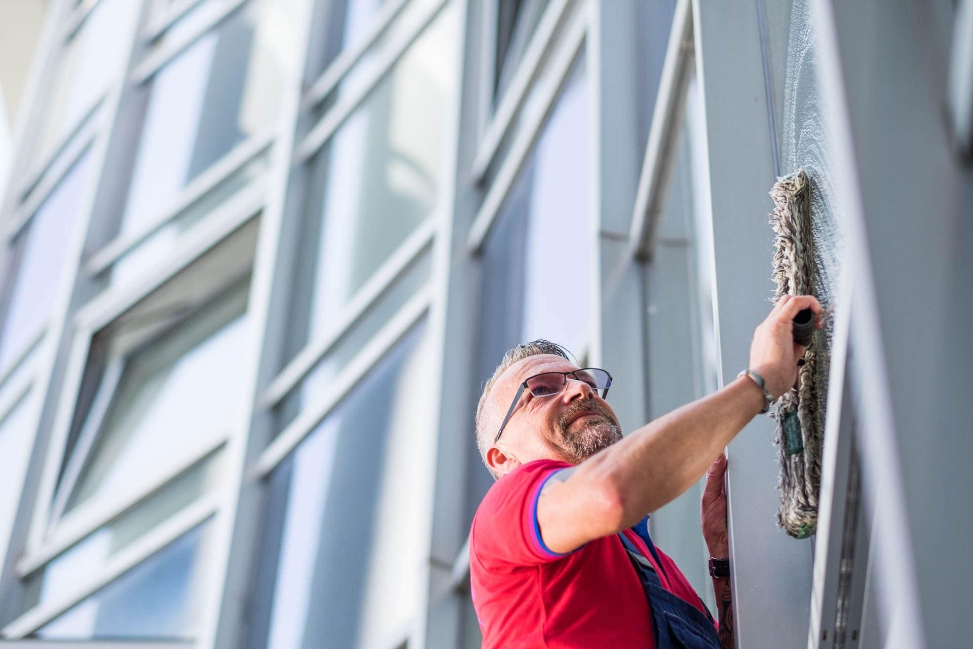 Fassadenreinigung: gewa-Gebäudereinigung